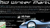 WorldCarFans.com Mid-Winter Party Invitation