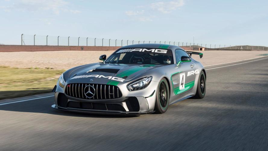 Mercedes-AMG GT4 é a mais nova máquina de corrida da casa alemã