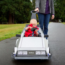 Baby Gets all Marty McFly for Halloween