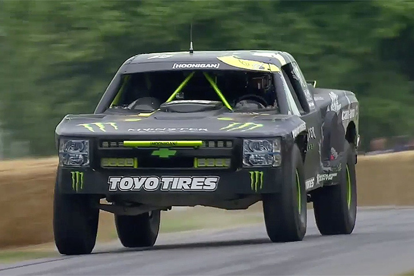 Watch BJ Baldwin Unleash his 800HP Chevrolet Trophy Truck