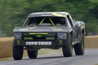 Watch BJ Baldwin Unleash his 800HP Chevrolet Trophy Truck