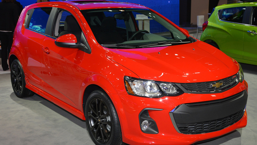 2017 Chevy Sonic facelift unveiled in New York
