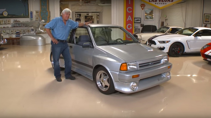 Jay Leno revisits his beloved 1989 Ford Shogun
