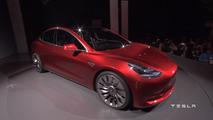 Tesla Model 3 unveiling