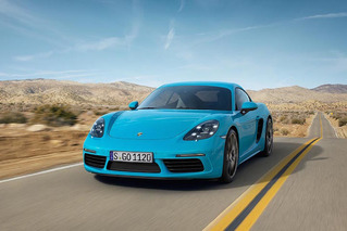 Porsche Dishes Out New 718 Cayman, Starts at $53,900