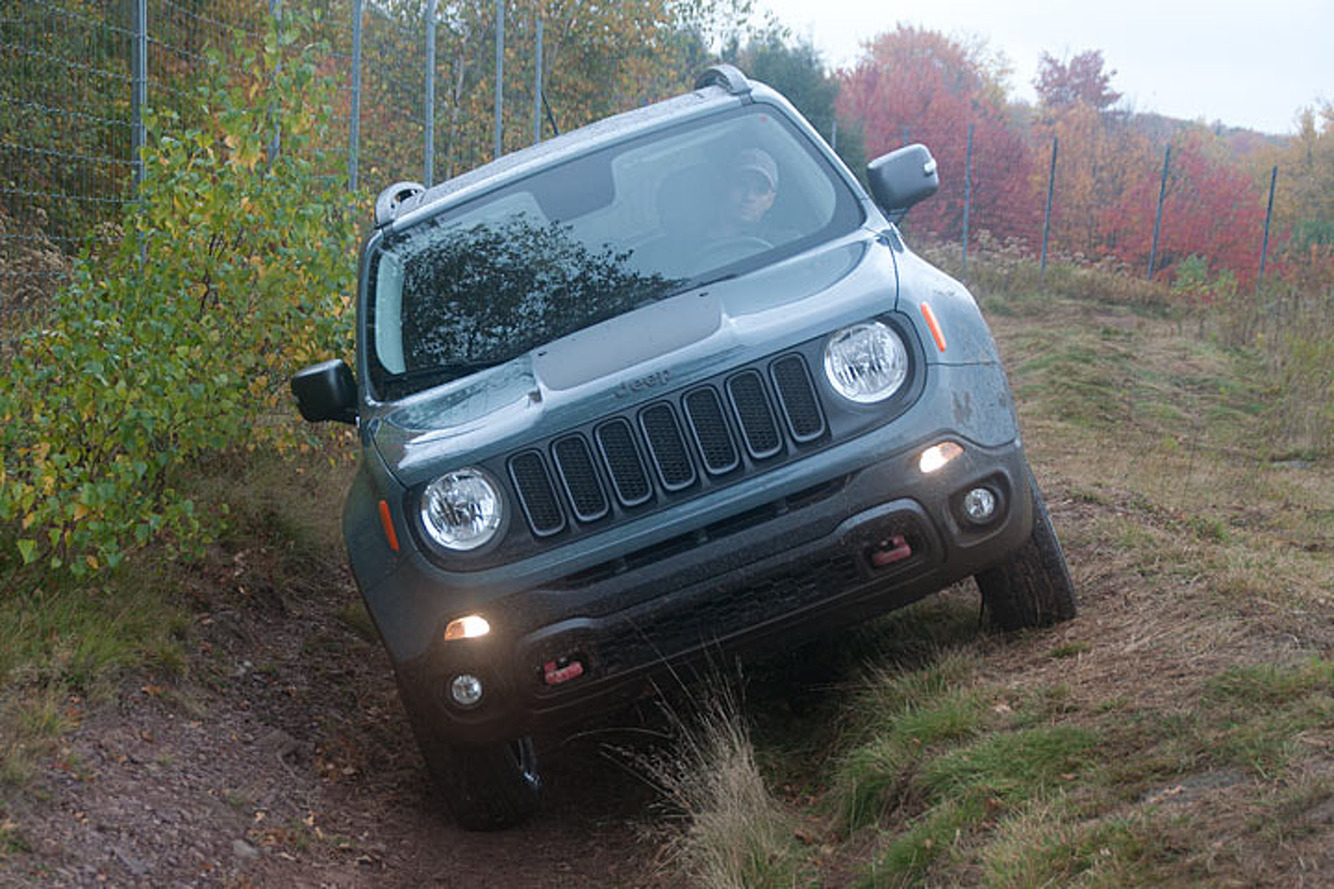 2015 Jeep Renegade Trailhawk Review