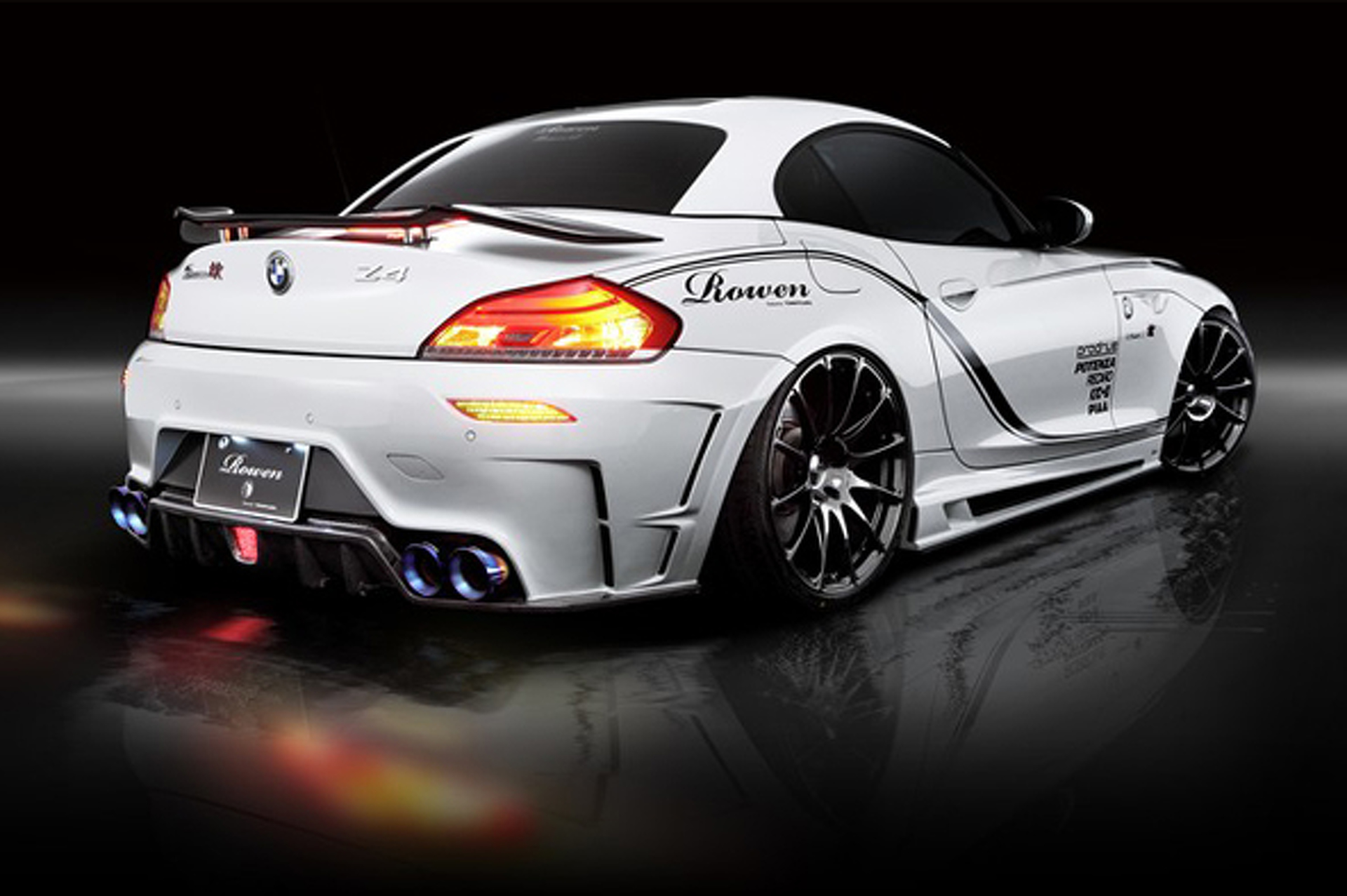 Unveiled: BMW Z4 White Wolf by Rowen Japan