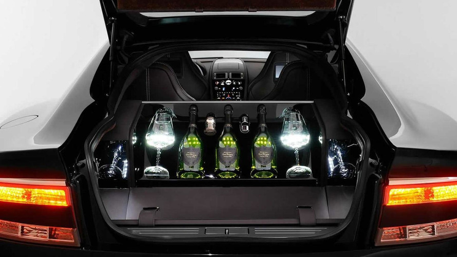 Aston Martin teams up with Dom Pérignon for a one-off Rapide S packed with the finest champagne