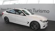 BMW 3-Series GT shown in live photos