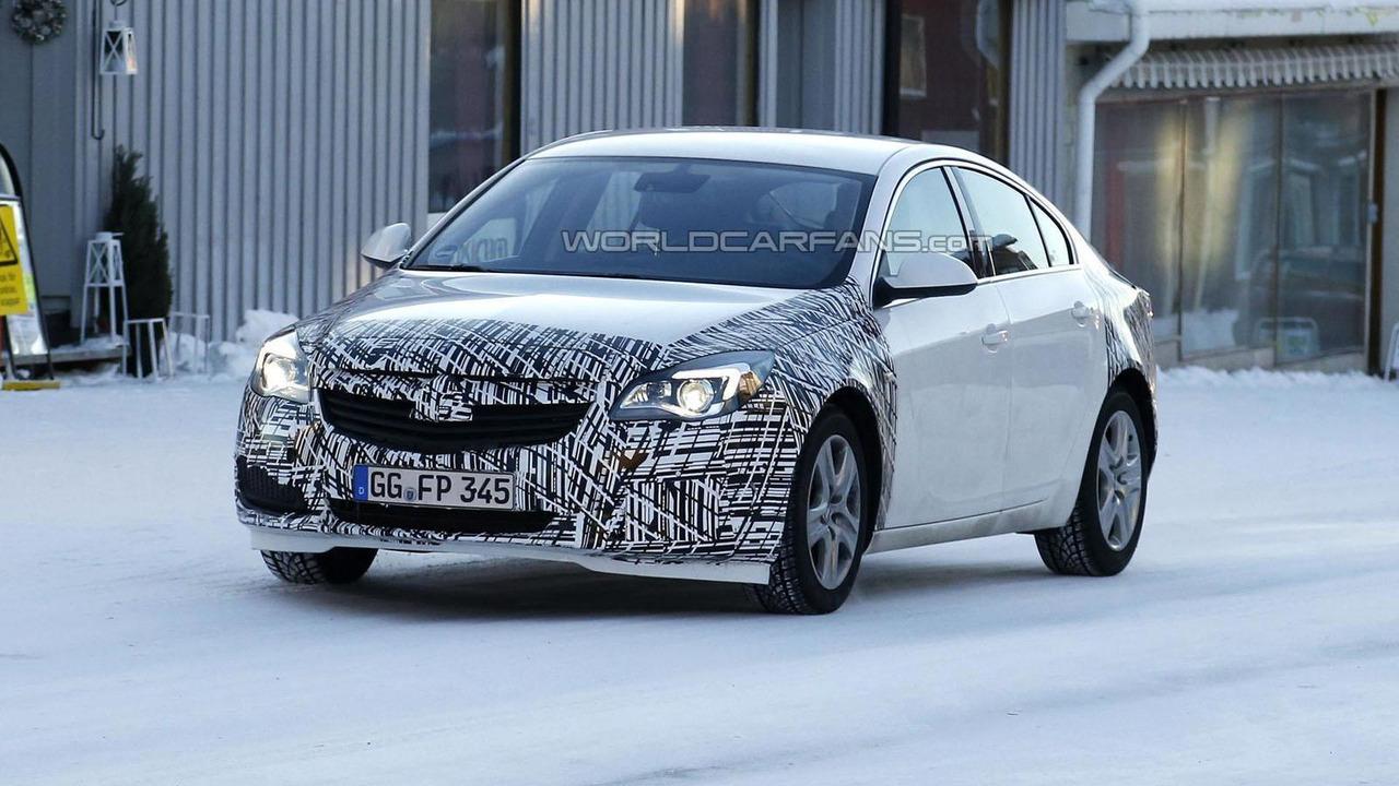 2014 Opel Insignia facelift spy photo 24.1.2013