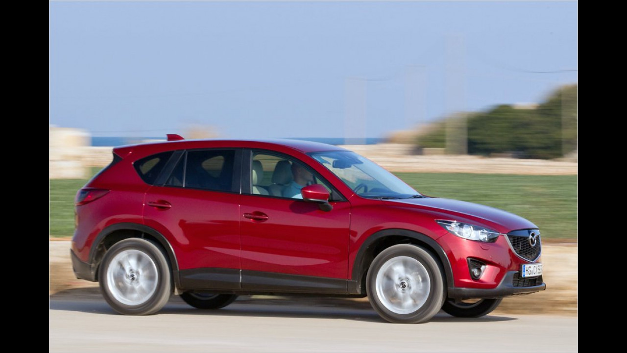April: Mazda CX-5