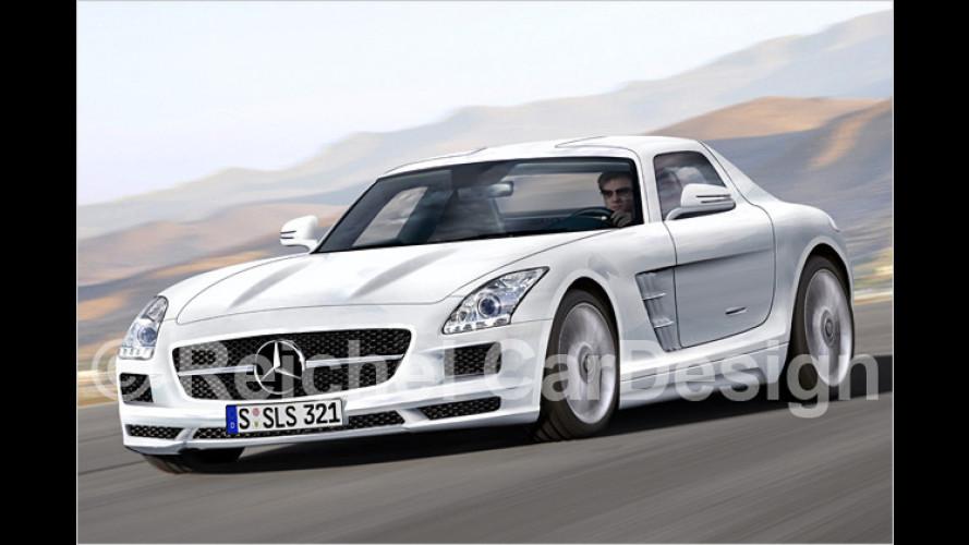 Der jetzt auch: Mercedes SLS AMG wird unter Strom gesetzt
