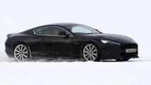 Aston Martin DB9 successor prototype spy photos