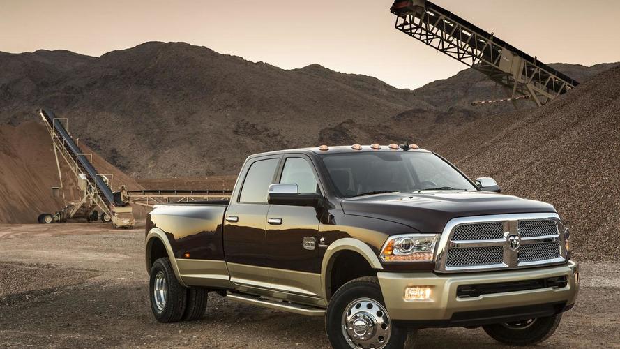 2013 Ram 2500 & 3500 Heavy Duty pickups unveiled