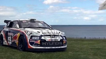 Rhys Millen's Hyundai Veloster makes a hole-in-one [video]