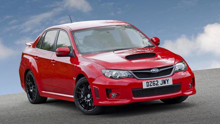 Subaru WRX STI gets more power for less money (UK)