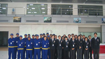 Staff at Toyota Beijing Huatong Toyota Motor Sales Co., Ltd.
