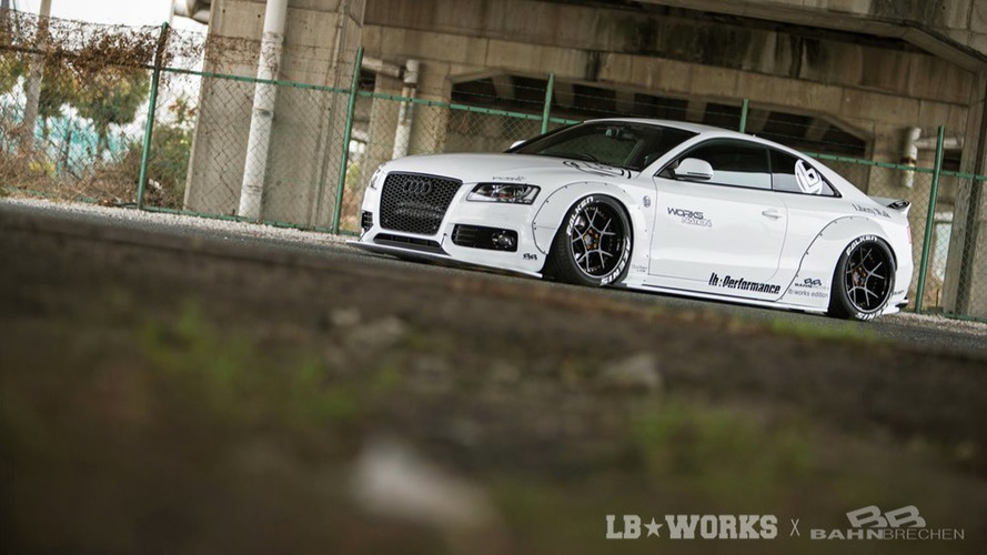 Liberty Walk Audi A5/S5 widebody 'kit released