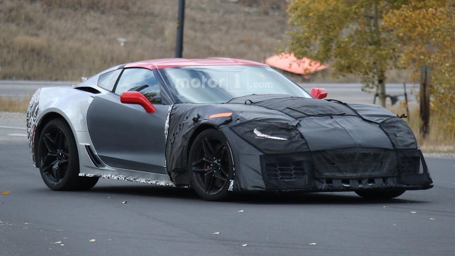 Corvette ZR1 en açık şekilde görüntülendi