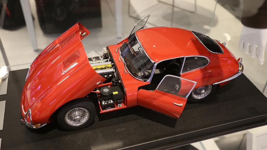 Three perfect Jaguar E-Types for sale at the Paris Motor Show