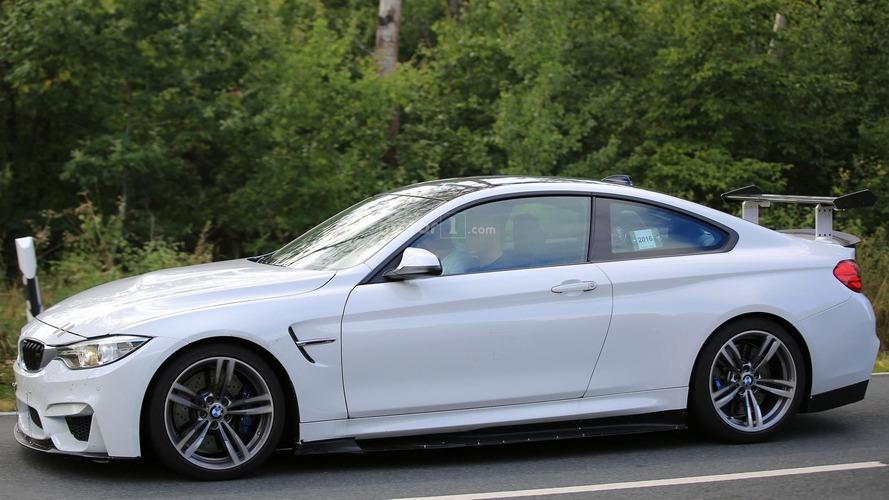 BMW, M4 için gizemli bir konseptle test yaparken yakalandı