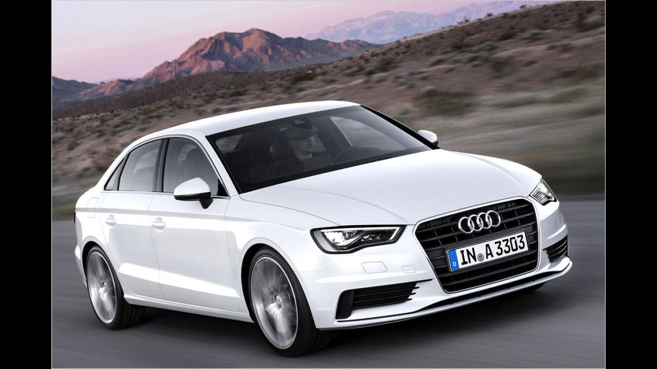 Kompaktklasse, Platz 2: Audi A3 (31.767 Stück)