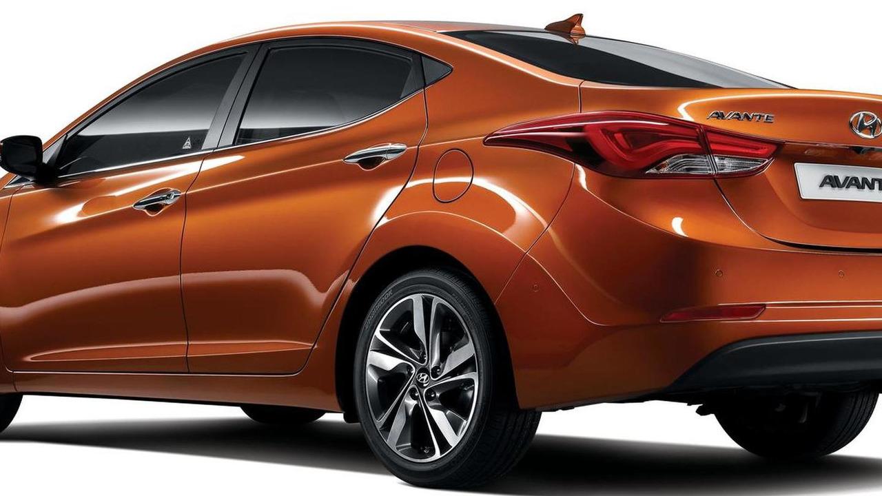 2014 Hyundai Avante / Elantra facelift 13.08.2013