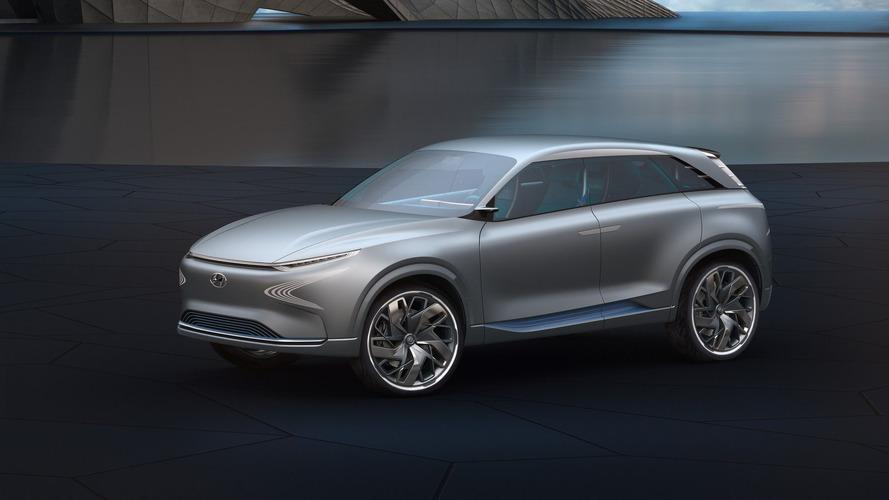 El Hyundai FE Fuel Cell Concept adelanta un SUV con pila de combustible