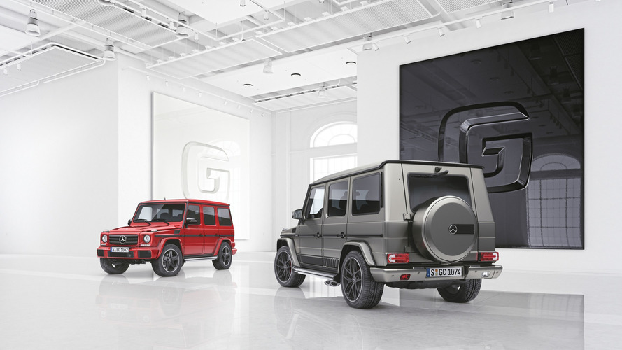 Deux séries spéciales pour le Mercedes Classe G
