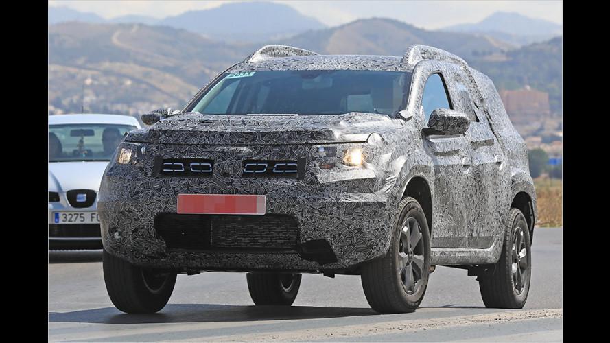 Erwischt: Neuer Dacia Duster