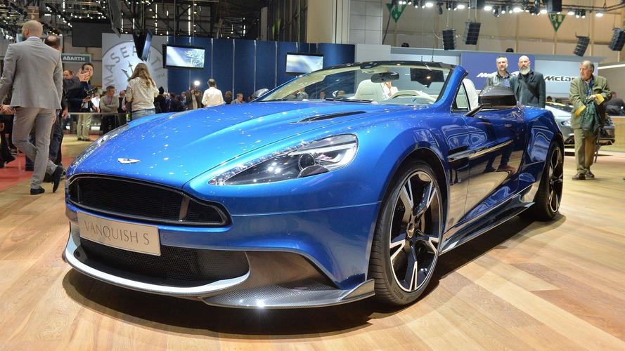 Aston Martin Vanquish S Volante beautifies Geneva Motor Show