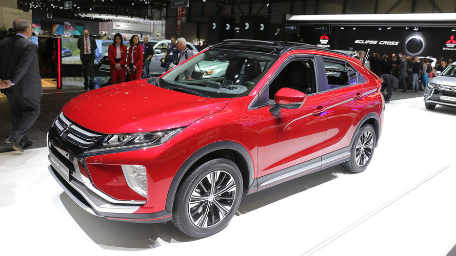 Mitsubishi Eclipse Cross set to rival the Nissan Qashqai