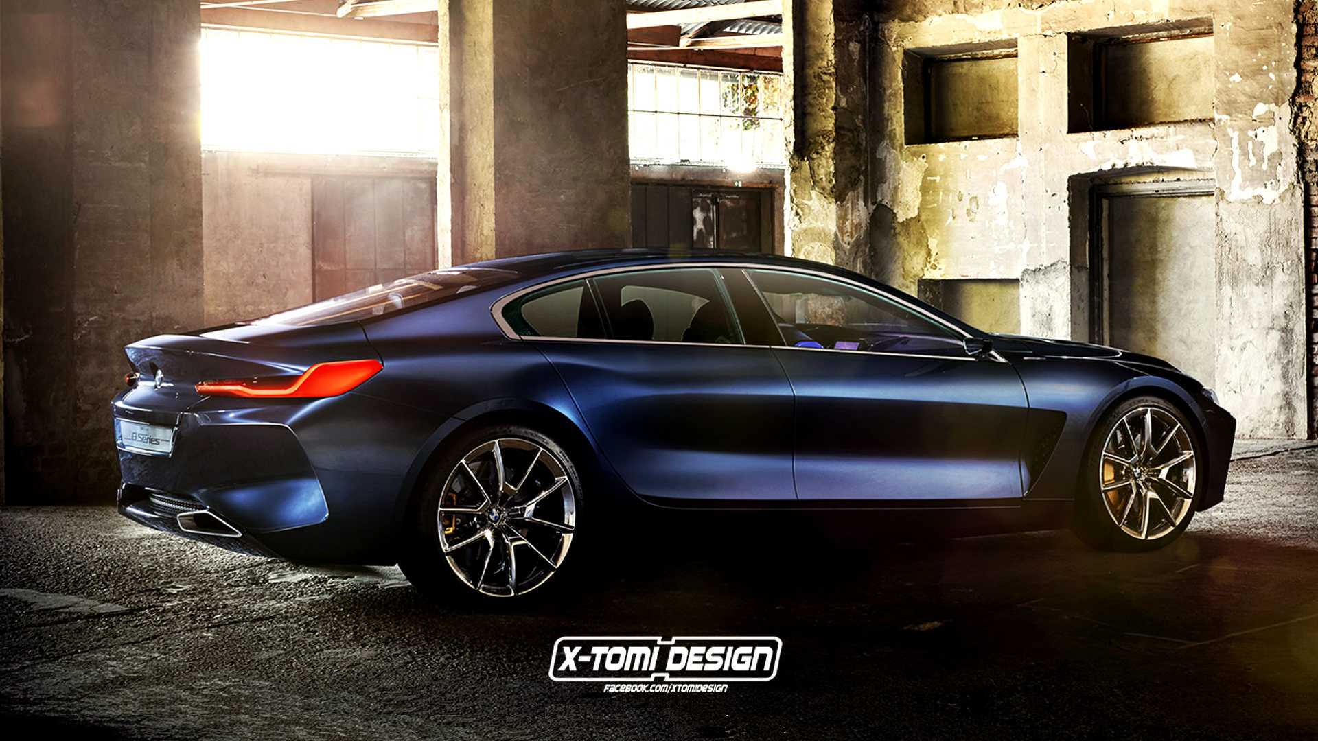 BMW 8 Series Gran Coupe May Show Its Stylish Look In Fall 2019