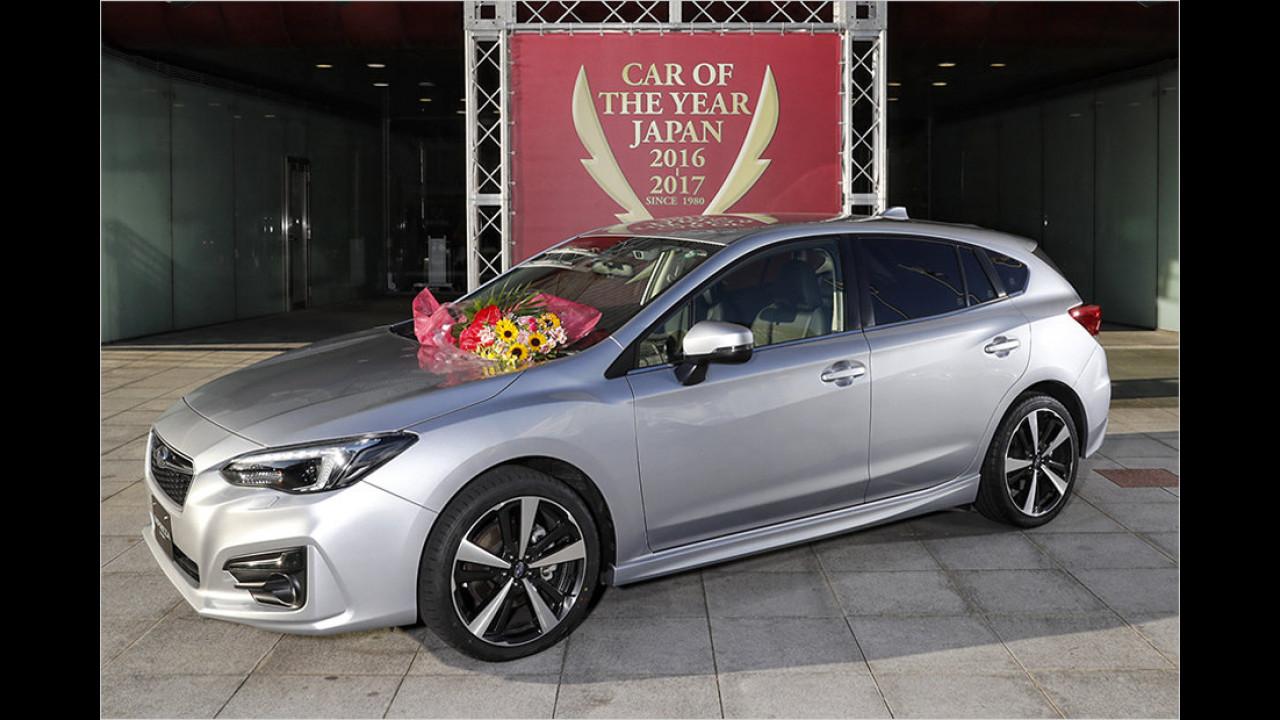 Platz Eins: Subaru Impreza
