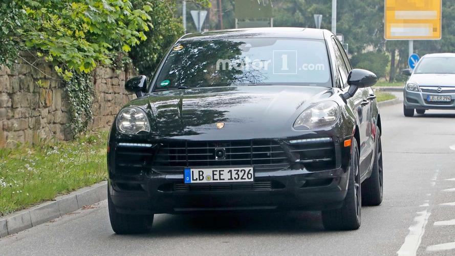 Porsche Macan restylé - Nouvelles images