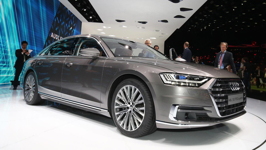 2018 Audi A8 Heralds Updated Nomenclature In Frankfurt