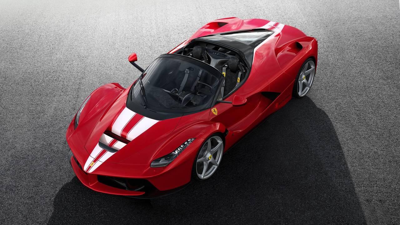 2. Ferrari LaFerrari Aperta