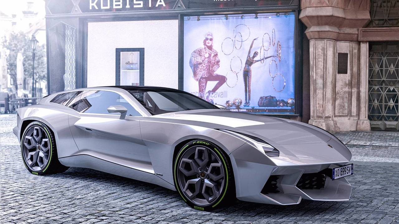Lamborghini Shooting Brake Concept