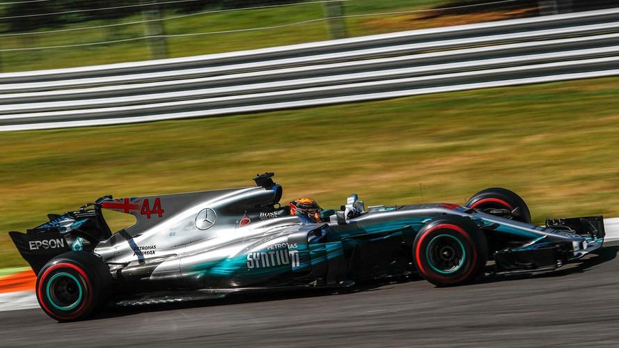 F1 - Hamilton et Mercedes sans rivaux à Monza