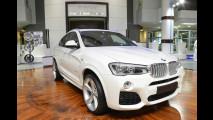 BMW X4, il SUV raddoppia gli scarichi