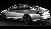 Chevrolet Malibu Red Line Series concept
