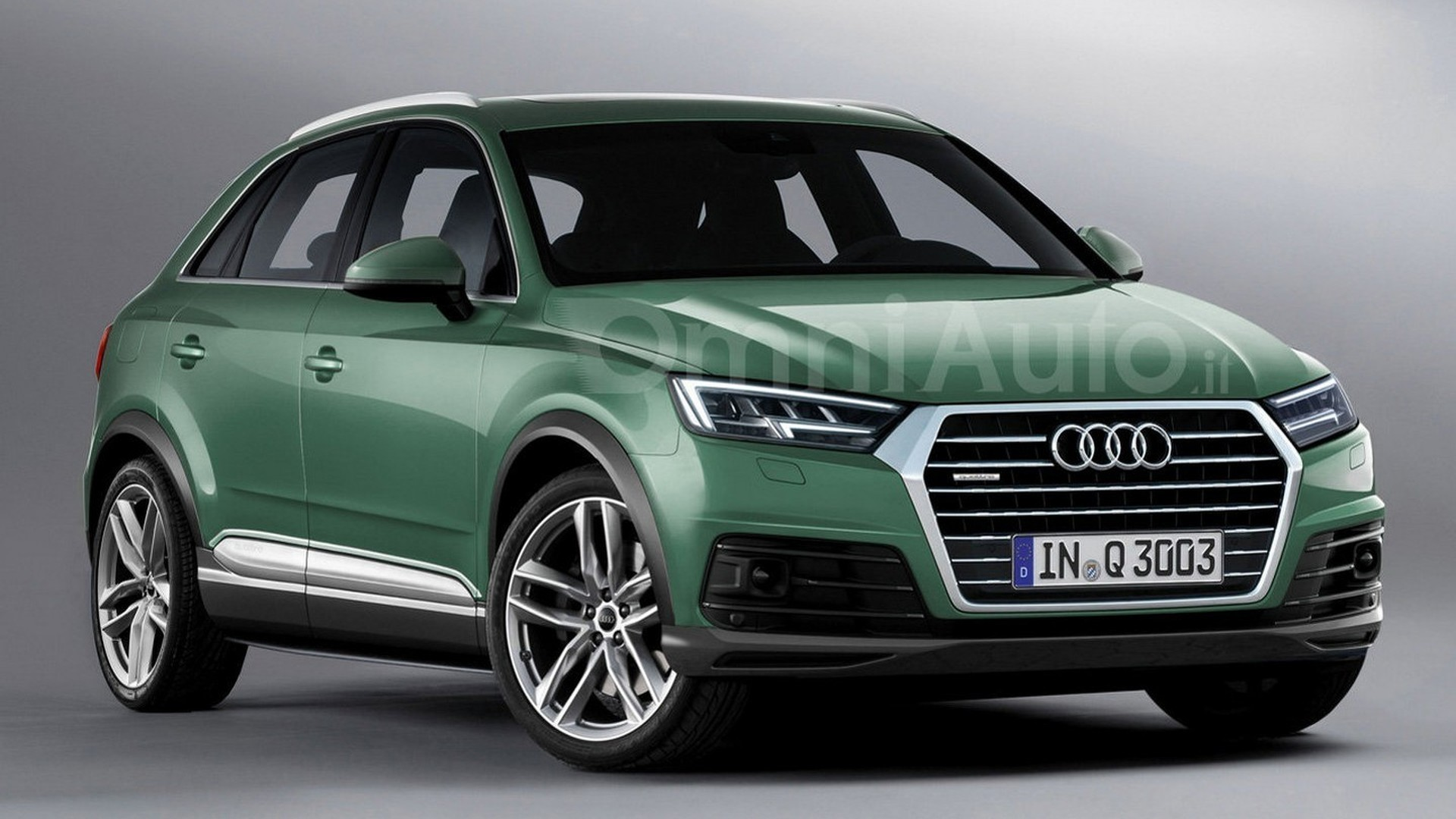 Audi Q3 Next Generation >> 2018 Audi Q3 render points towards predictable design evolution
