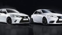 Lexus CT and IS Sport (Euro-spec)