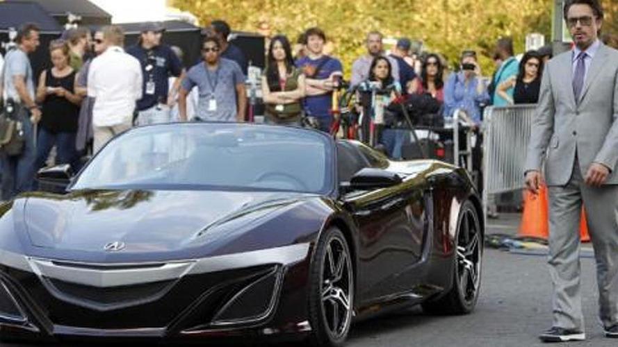 Tony Stark's Acura previews new NSX, hybrid rumoured