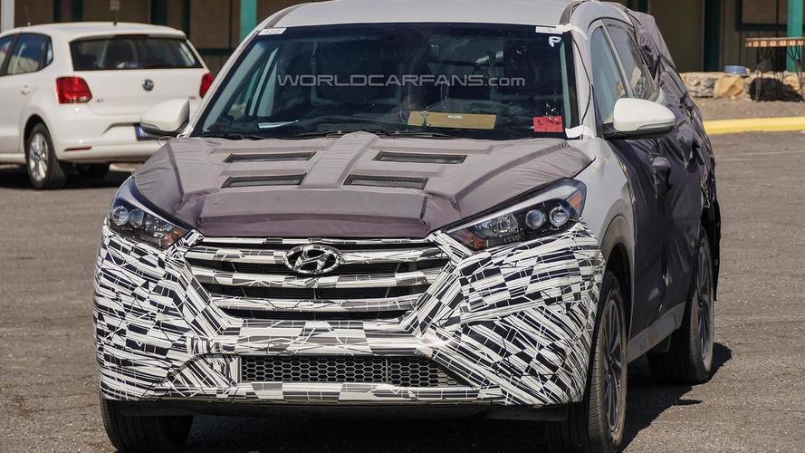 2015 Hyundai ix35 / Tucson returns in fresh spy photos