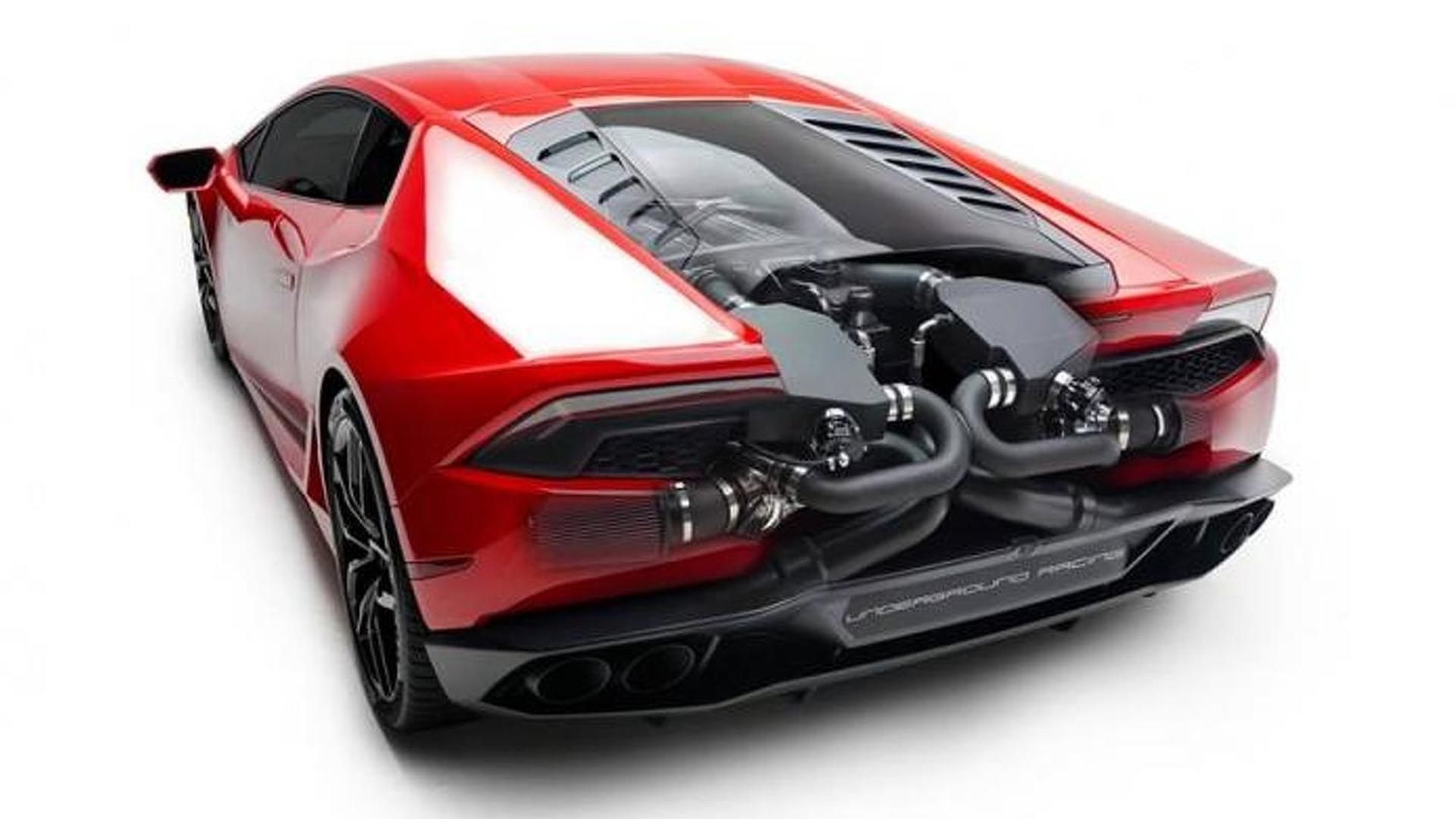 Lamborghini Huracan Biturbo. Тюнинг от Underground Racing