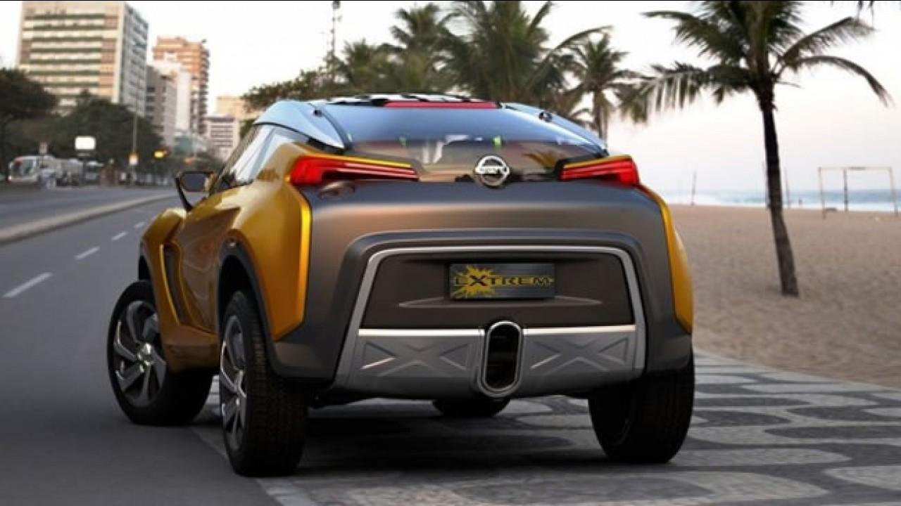 Nissan produzirá SUV derivado do Extrem no Brasil em 2014