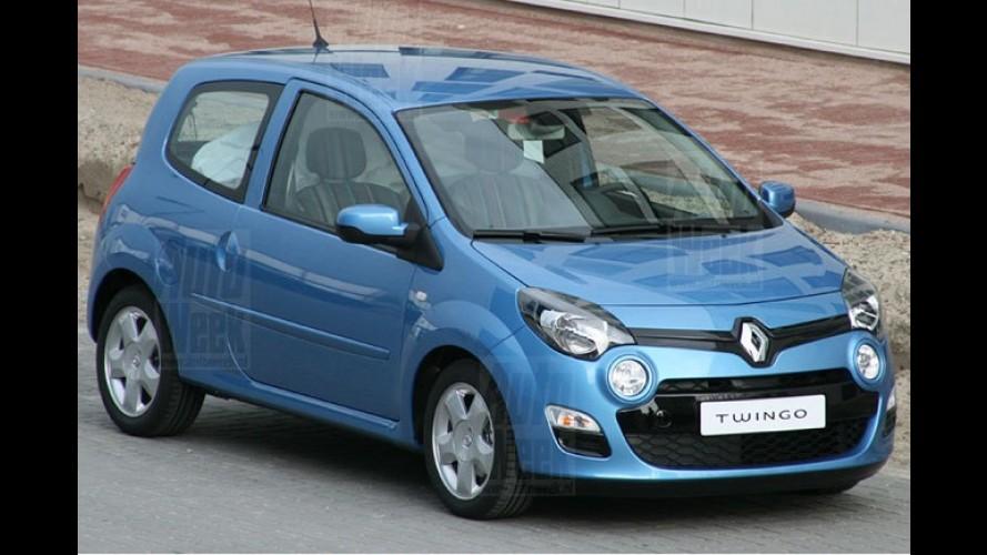Renault Twingo 2012 é flagrado rodando sem disfarces