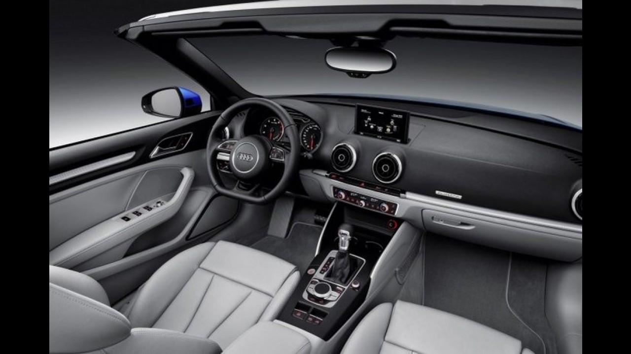 Galeria: novo Audi A3 Cabriolet faz sua primeira aparição oficial