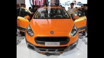 Conceito Fiat Punto Avventura é apresentado na Índia